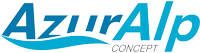 AzurALP Piscines Logo